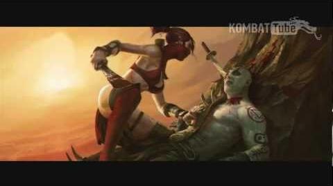 MK9 Ending SKARLET