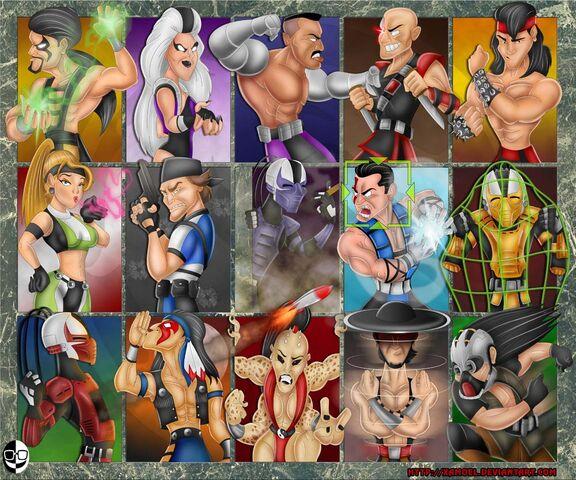 File:Mortal-Kombat-3-Characters-Fanart-MK3-by-xamoel.jpg
