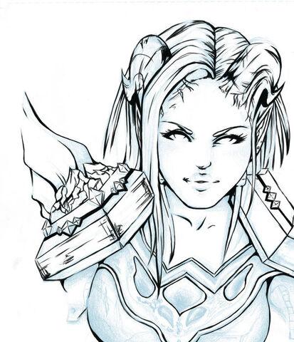 File:World of Warcraft Draenei pala by fayechan.jpg