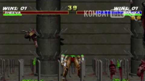 MK III Baraka Animality