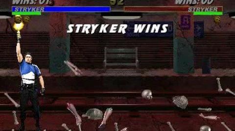 Mortal Kombat 3 - Fatality 2 - Stryker