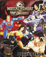 Mortal Kombat vs DC Universe Beginnings Cover