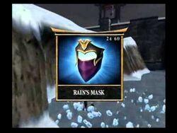 Rain's mask