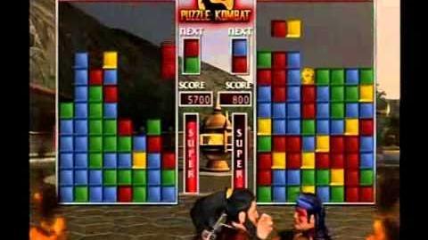 Mortal Kombat Deception - All Puzzle Kombat Character Abilities