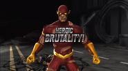 MKvsDCU Flash Heroic Brutality