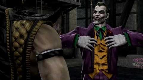 Mortal Kombat VS DC Universe - Trailer - The Joker - Xbox360 PS3