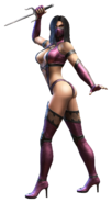 Mileena Official Render transparent