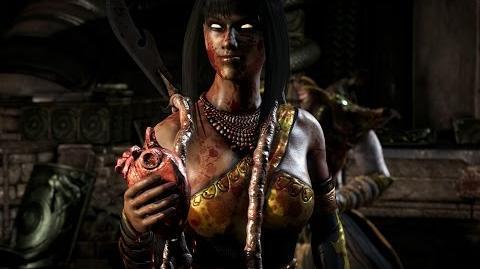 """Mortal Kombat X Tanya's """"Edenian Drill"""" Fatality"""