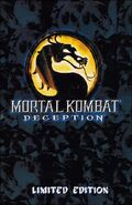 Mortal Kombat Deception Limited Edition Cover