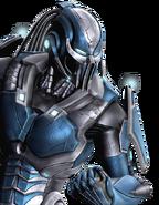 Cyber Sub Zero-versus pose