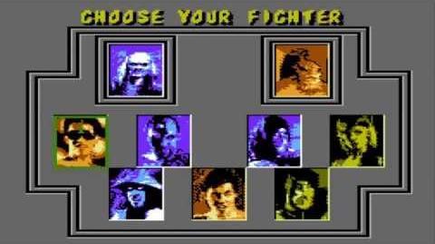 Mortal Kombat II hack (Select Screen+Gameplay) NES HD 720p