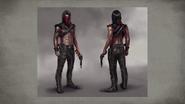 MKX Erron Black Concept Art 5