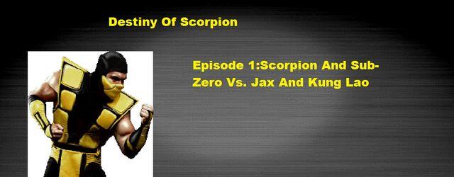File:Destiny Of Scorpion Episode 1 Scorpion And Sub-Zero Vs. Jax And Kung Lao.jpg