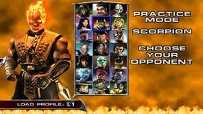 Mkda Character Select Screen