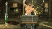 Johnny cage test your strike