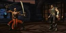 Daegon and raven in chamber of daegon