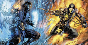 MORTAL KOMBAT X ISSUE 1 FULL COVER
