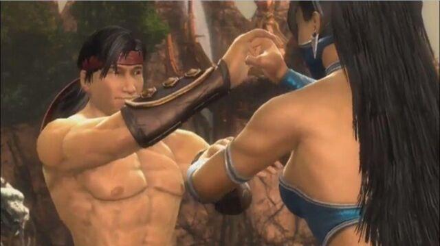 File:Liu Kang and Kitana.jpg