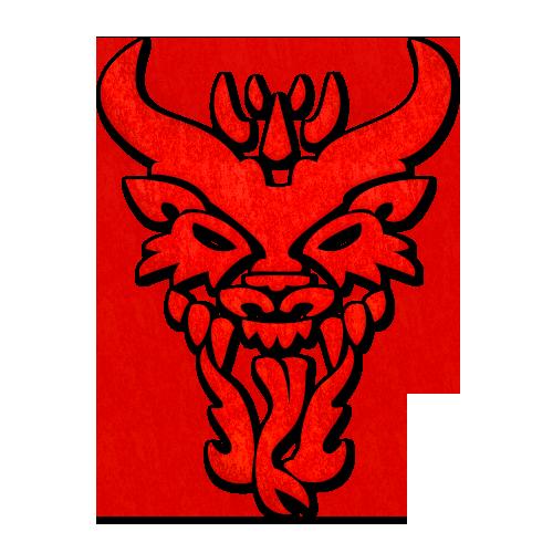 Fireball Whiskey Dragon