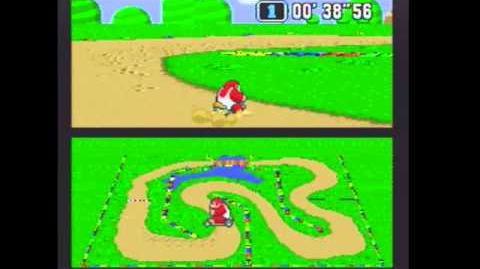 "Super Mario Kart WR 1'08""54 Donut Plains 1"