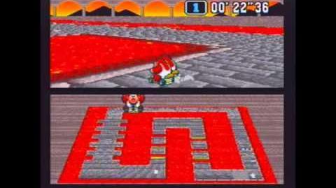 "Super Mario Kart (NTSC) Time Trial Bowser Castle 1 (BC1) - 1'25""37 NBT (World Record)"