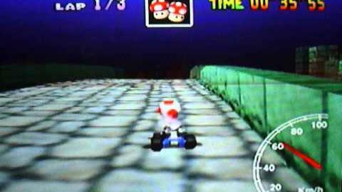 """Mario Kart 64 WR 2'12""""68 Bowser's Castle"""