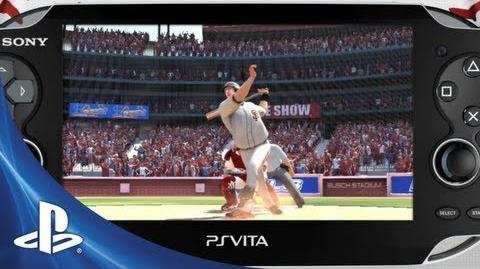 MLB 13 The Show Vita trailer