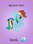 Rainbow Dash store locked