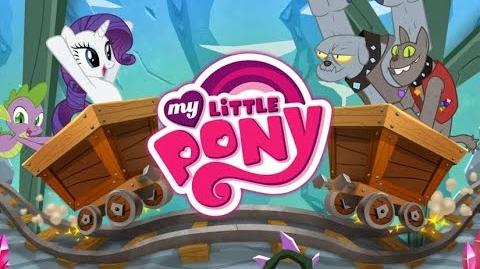 How to Play Crystal Mine, Minecart (Mini Video Game) My Little Pony Friendship is Magic @Gameloft