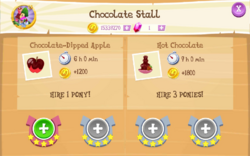 Chocolate Stall Products