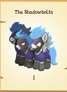The Shadowbolts inventory