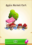 Apple Market Cart Store Unlocked