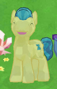 Ivory Crystal Pony image