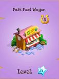 Fast Food Wagon Store Locked