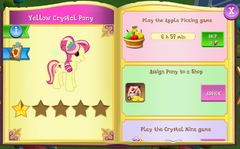 Yellow Crystal Pony album