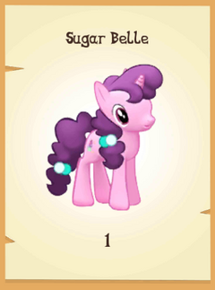 Sugar Belle inventory
