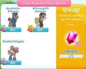 Grand Equestria Pony Summit