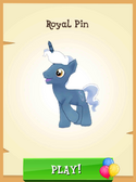 Royal Pin unlocked