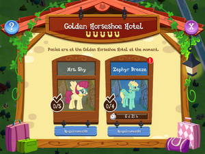 Golden Horseshoe Hotel Rooms