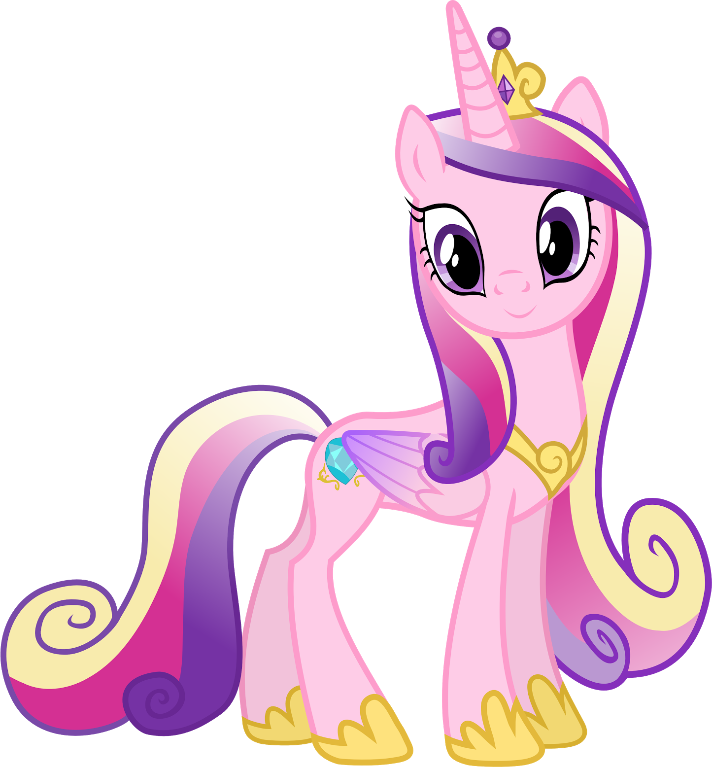 Princesse Cadance Coloriage.Fresh Coloriage De My Little Pony Princesse Cadance Inspirant