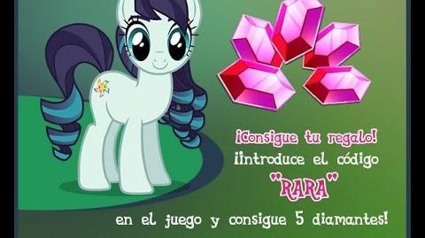 5 GEMAS GRATIS - AGOSTO 2016 - My Little Pony La Magia de la Amistad - Juego de Gameloft - MLP FiM