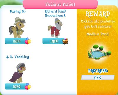 Valiant Ponies