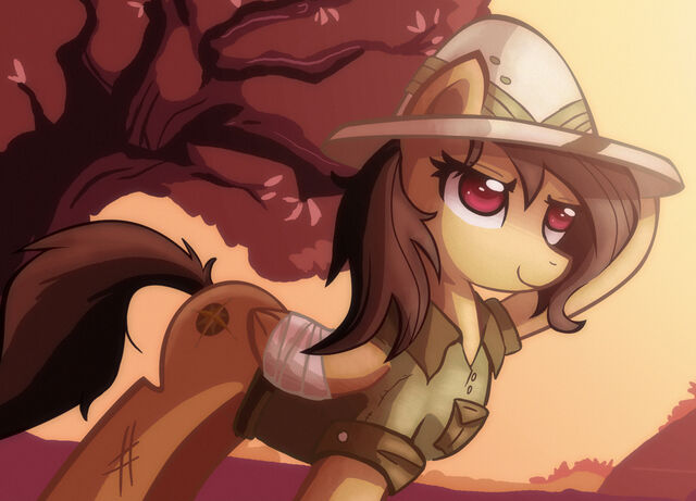 File:FANMADE Daring Do by Ric-M.jpg