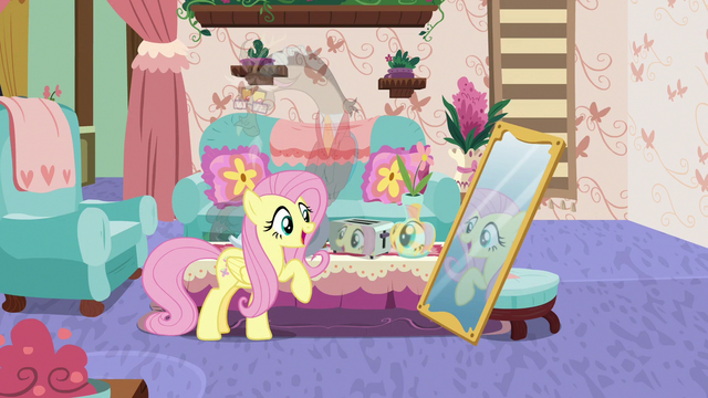 """File:Fluttershy """"how to Discord up this tea party"""" S7E12.png"""