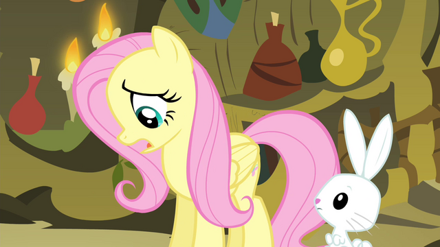 File:Fluttershy 'Except that' S4E14.png