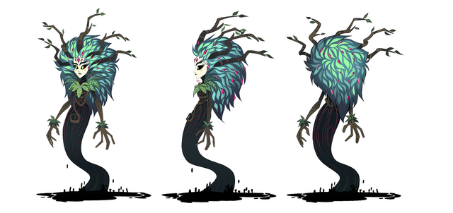 File:Legend of Everfree - Gaea Everfree turnaround by Madison Tuff.png