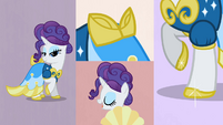 Rarity dress montage S2E9