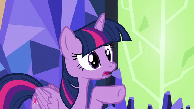 """File:Twilight """"you sent me to Ponyville"""" S7E1.png"""