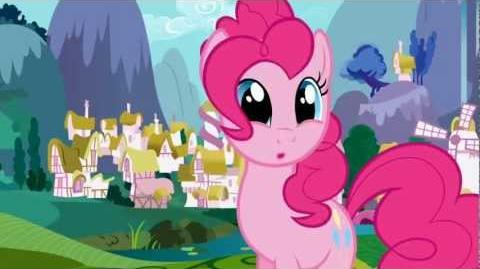 Pinkie Pie - Isn't this exciting?...