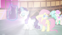 Rarity's even shinier coat S4E16
